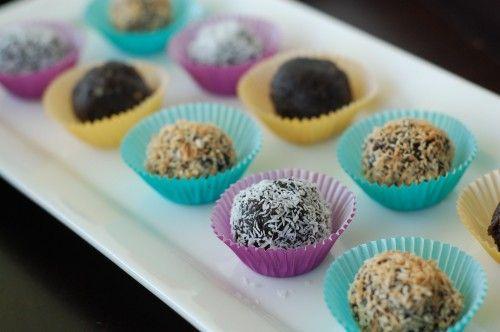 chocolate treats - to get us through 2012 sugar free