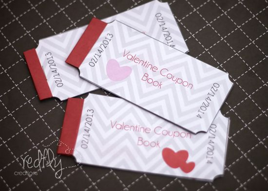 valentines coupon book ideas for him