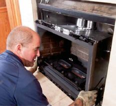 Convert Your Wood Fireplace To Gas Diy Pinterest