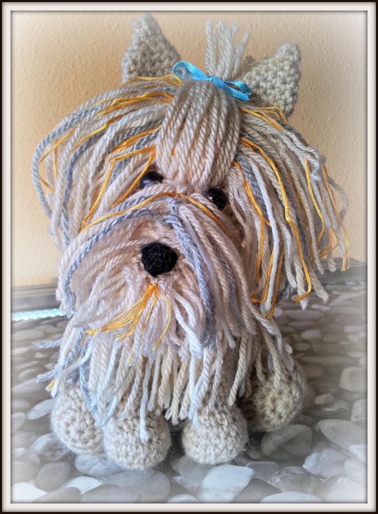 Crocheting Pronunciation : Perro Yorkshire amigurumis - crochet - ganchillo Pinterest