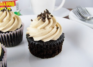 Cafe Mocha Cupcakes | Recipes | Pinterest