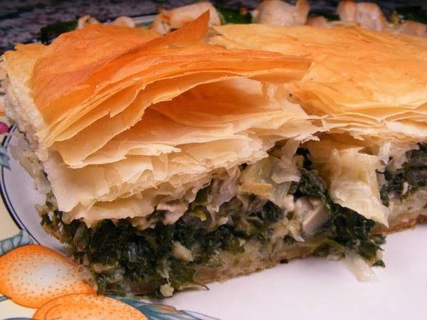 Spanakopita (Greek Spinach Pie) | Food | Pinterest
