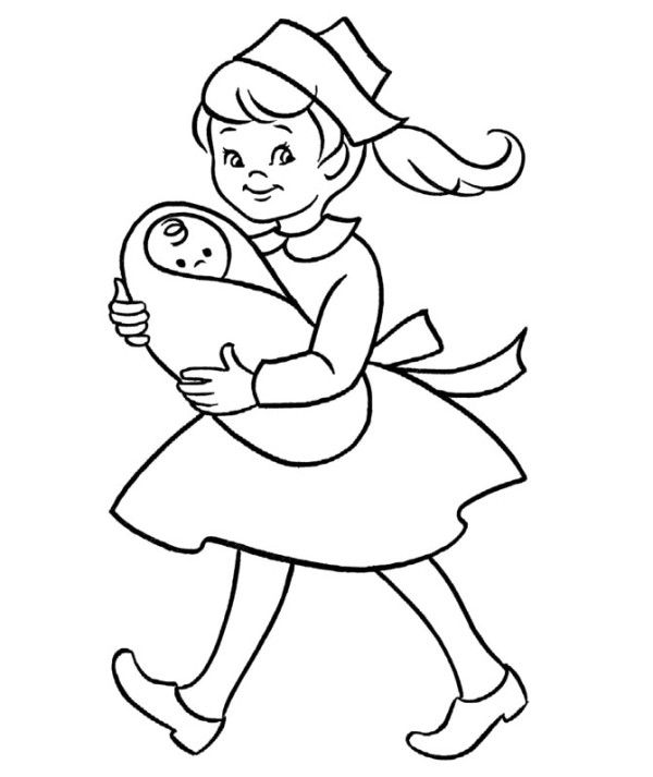 Colouring Pages Doctors And Nurses: Doctor nurse colouring pages page.