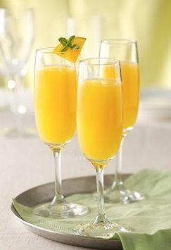 Peachy Mimosas | Recipe