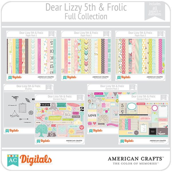 dear lizzy 5th amp frolic full collection