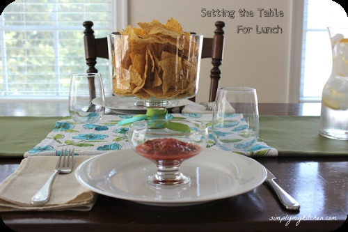 Table Setting For Lunch : Lunch Table Setting  Celebrate: Table Settings  Pinterest