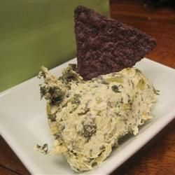 Veronica's Hot Spinach, Artichoke and Chile Dip | Recipe