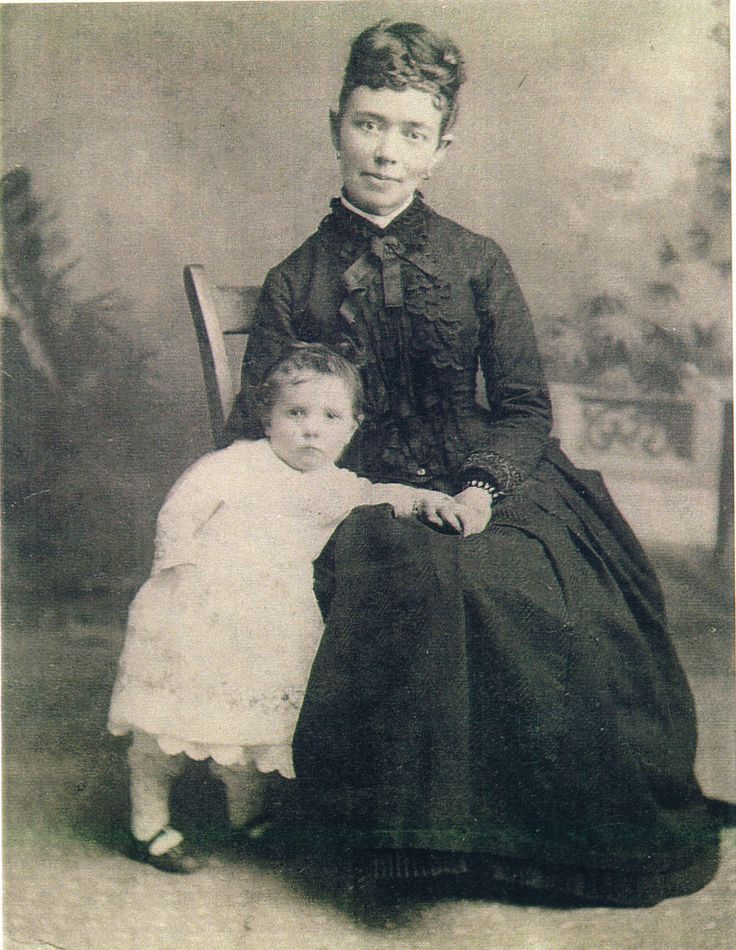 Ida Francis Hunt and daughter Pauline