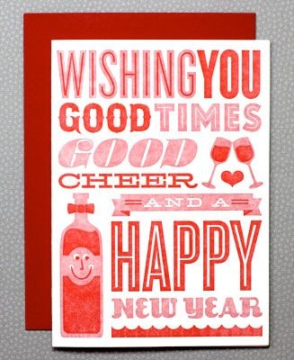 good times happy new year card | Christmas Holiday & Decorating Ideas