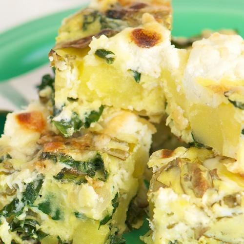 Summer Vegetable And Sausage Frittatas Recipe — Dishmaps