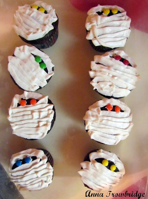 Mummy Cupcakes | Joy of Cooking | Pinterest
