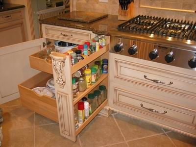 Pull Out Spice Rack For The Home Pinterest