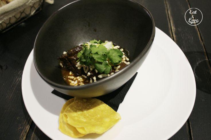 Rendang (curry indonesio) de ternera - Restaurante Triciclo - Madrid - Huertas
