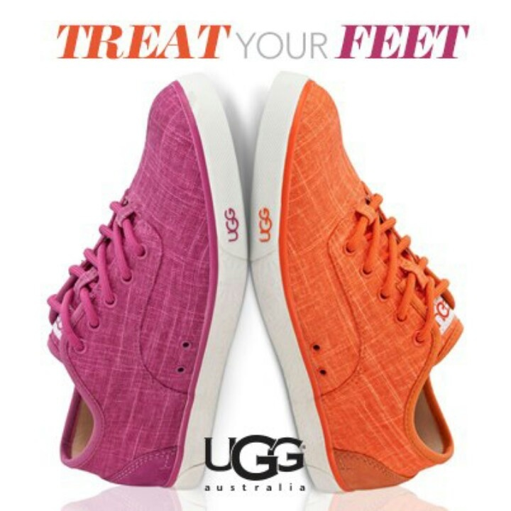 Cute! Ugg tennis shoes