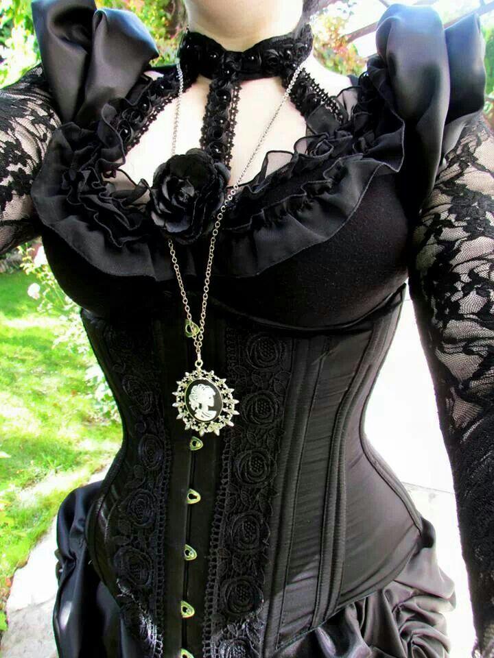 victorian gothic corset dress my fashion pinterest