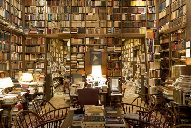 The private library of Johns Hopkins University professor Richard Macksey, this awe-inspiring collection is comprised of over 70,000 books, a large collection of manuscripts, and some art works.