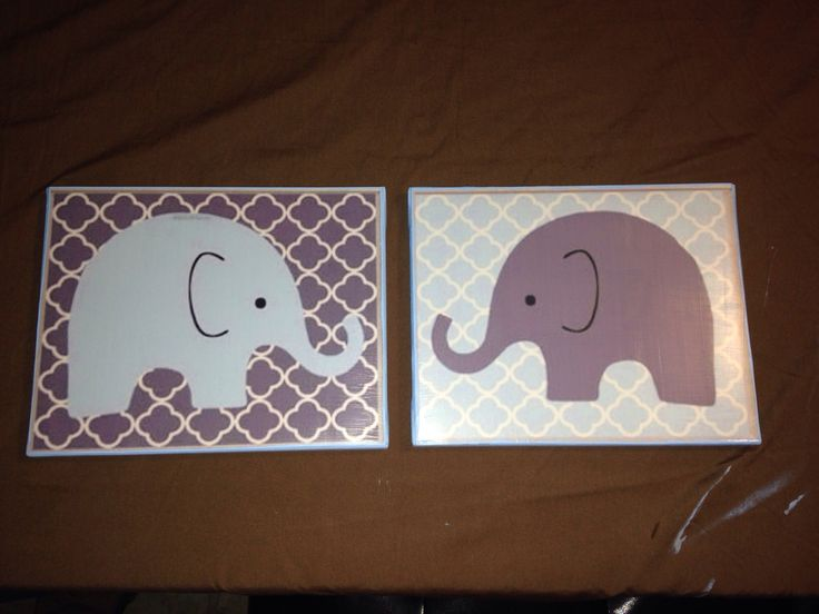 DIY Canvas Nursery Wall Art My Pins Pinterest