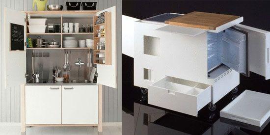 Compacte Keuken In Kast : Keuken in een kast ? Koffiezet / koelkast / combi-oven / kookplaat ?
