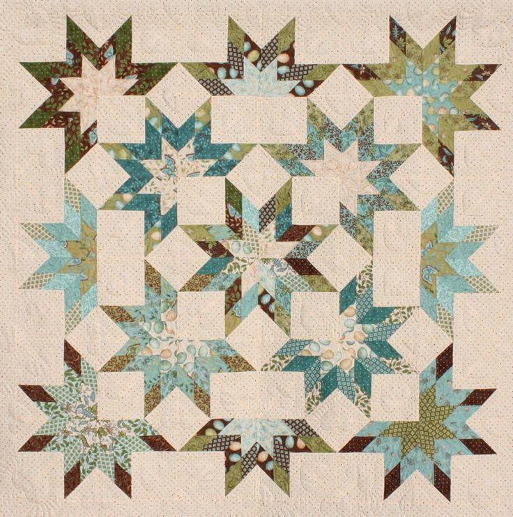 Star Burst Jelly Roll Quilt Pattern School Stuff Misc