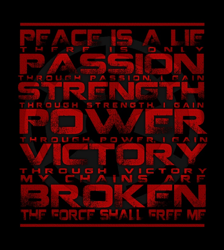 The Sith Code | Star Wars | Pinterest