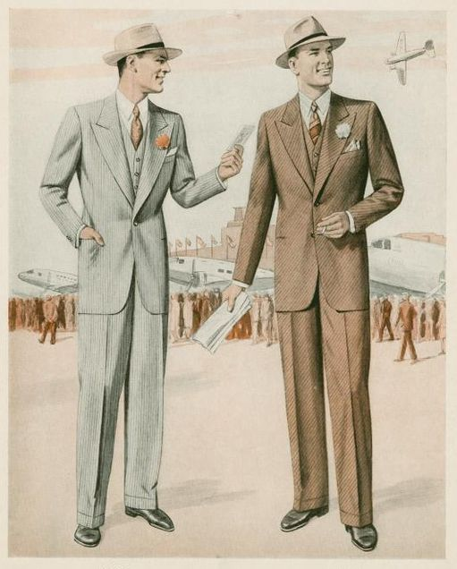 1940s mens fashion 1940s menswear pinterest