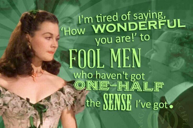 Scarlett o 39 hara my beliefs pagan or otherwise for Who played scarlett o hara in gone with the wind