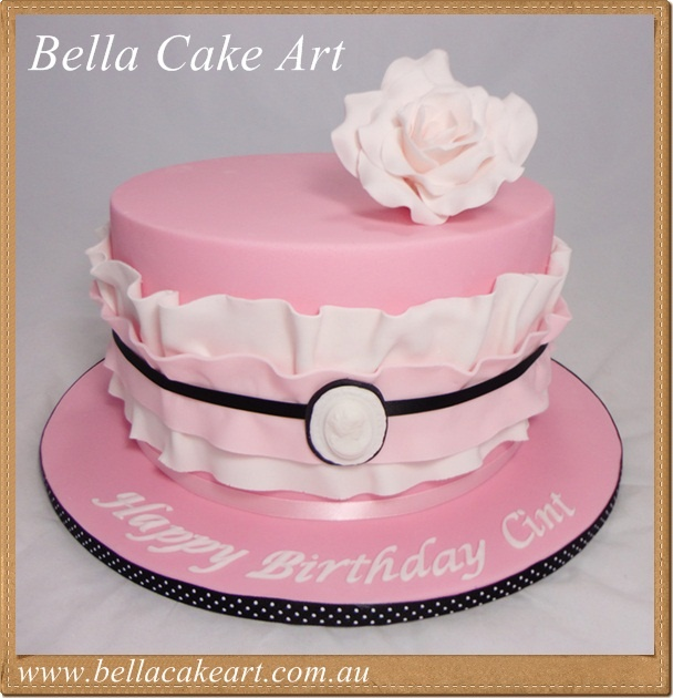 Ladies birthday cake 30th bday cakes Pinterest