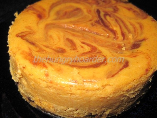 Marbled Pumpkin Cheesecake Recipe — Dishmaps