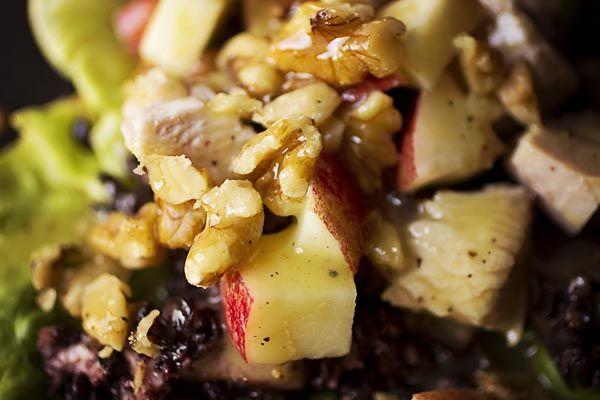 Forbidden Waldorf-Salad With Smoked Turkey Recipes — Dishmaps