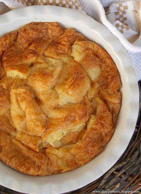 Shopgirl: Croissant Bread Pudding   Food   Pinterest