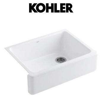 Kohler Farmhouse Sink Grand Blanc Kitchen Pinterest