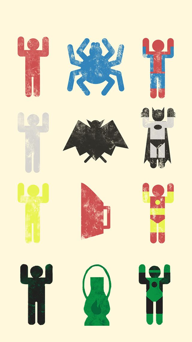 Superhero Iphone 5 Wallpaper Ios 8 Wallpapers 436Superhero