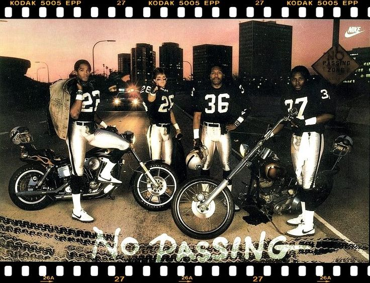 mike haynes nike poster raiders
