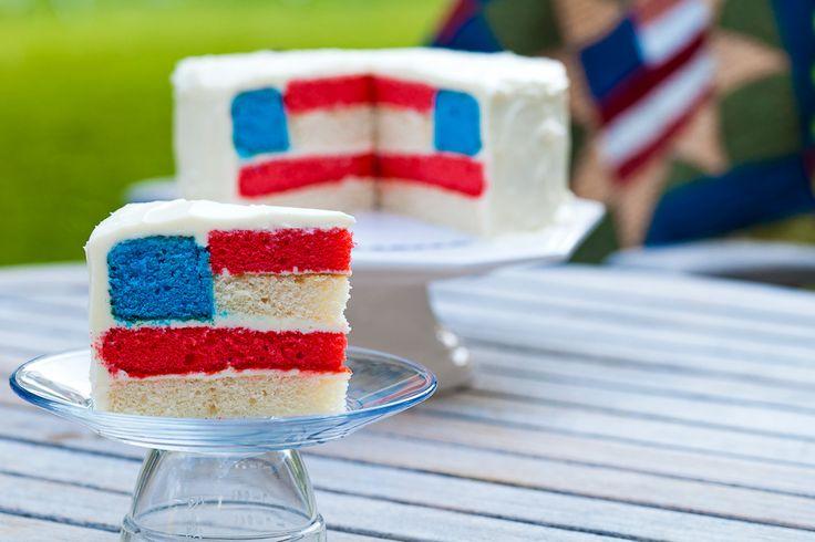flag day cake