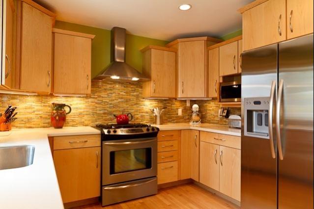 Kitchen Light Wood Cabinets Kitchen Pinterest