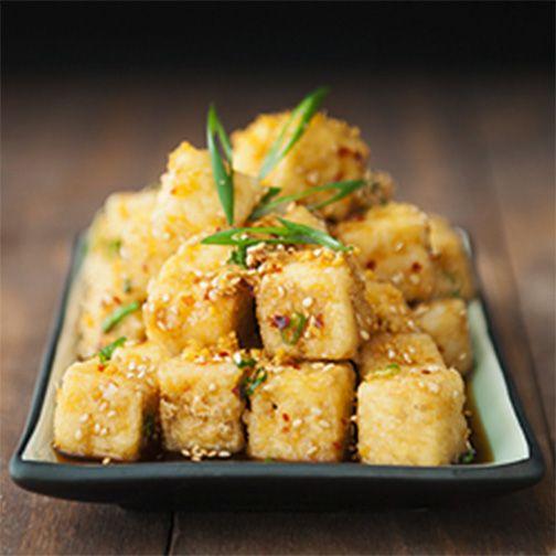 Sesame Tofu | Healthy eating | Pinterest