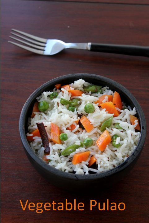 Vegetable Pulao | Food | Pinterest