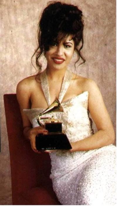 Selena. Grammy winner!