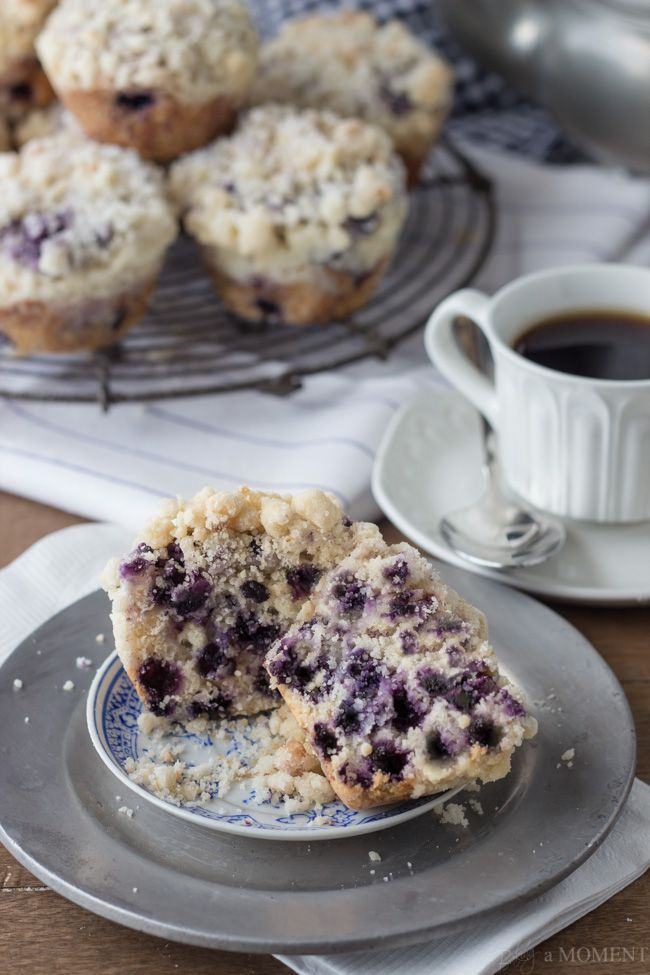 Simply Perfect Blueberry Muffins | Baking a Moment. Use Frozen WILD ...