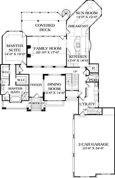 Portsmouth E House Plan 4417 Food Pinterest