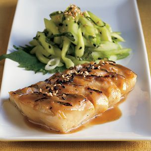 Grilled Miso-Glazed Black Cod | Recipes | Pinterest