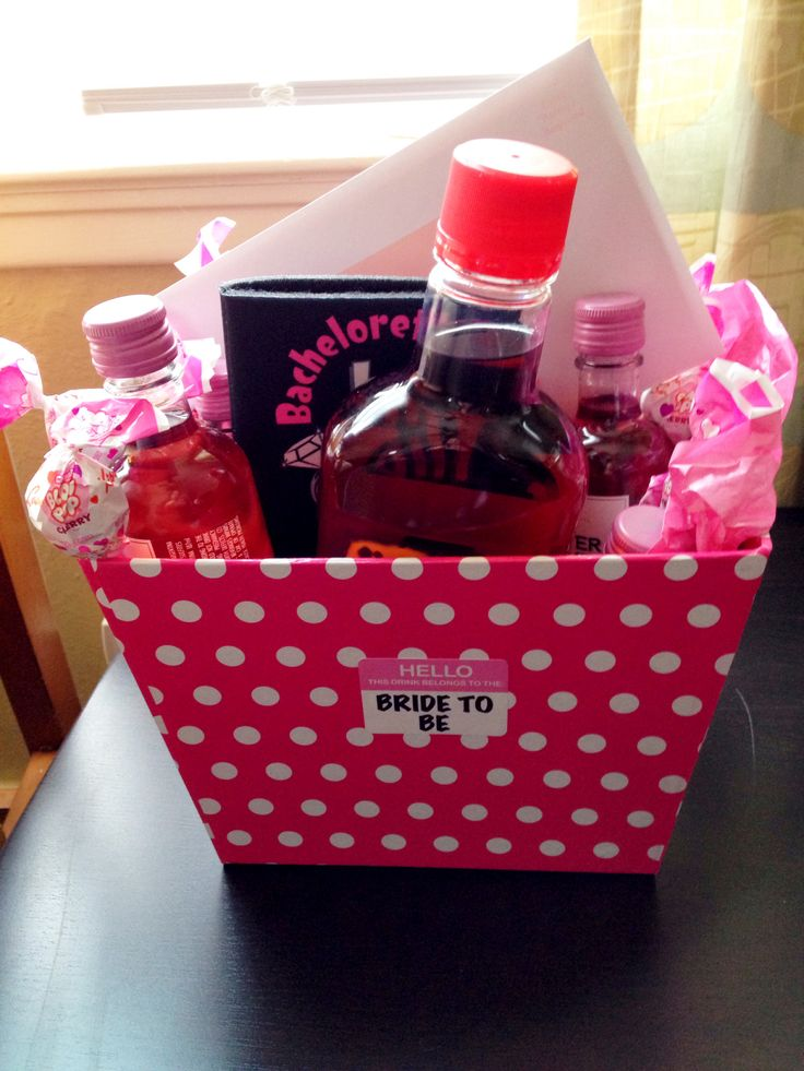 Week Of Wedding Gifts For Bride : Bride gift BACHELORETTE PARTY Pinterest