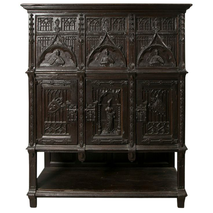 Neo Gothic Cabinet Delusions Of Grandeur Pinterest