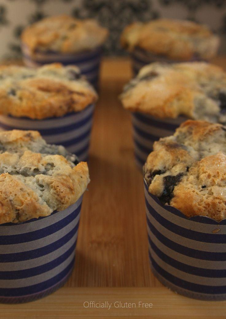 Blueberry Muffins - Gluten Free | Gluten Free | Pinterest