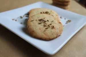 parmesan, fennel and sea salt shortbread crackers. they're sweet and ...