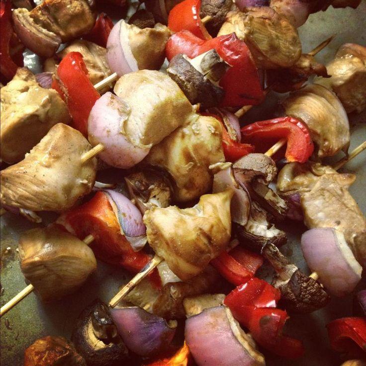 Grilled Chicken Kabobs | chicken recipes | Pinterest
