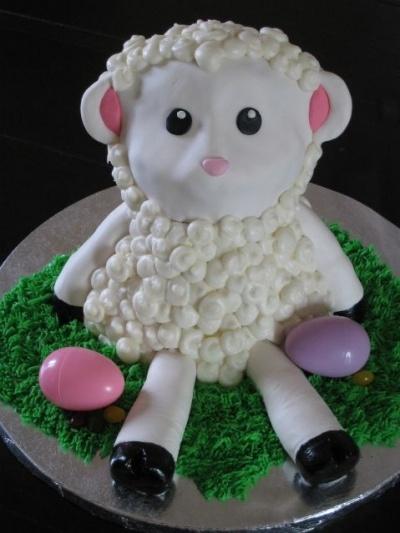 Easter Lamb Cake | Yummies | Pinterest