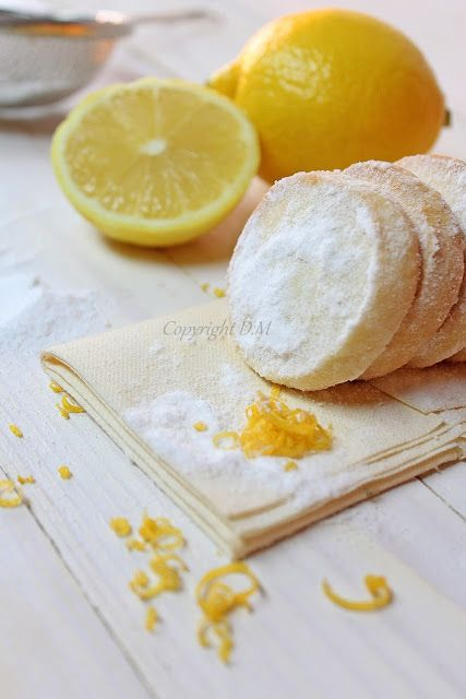 Cookies Lemon Meltaways | food | Pinterest