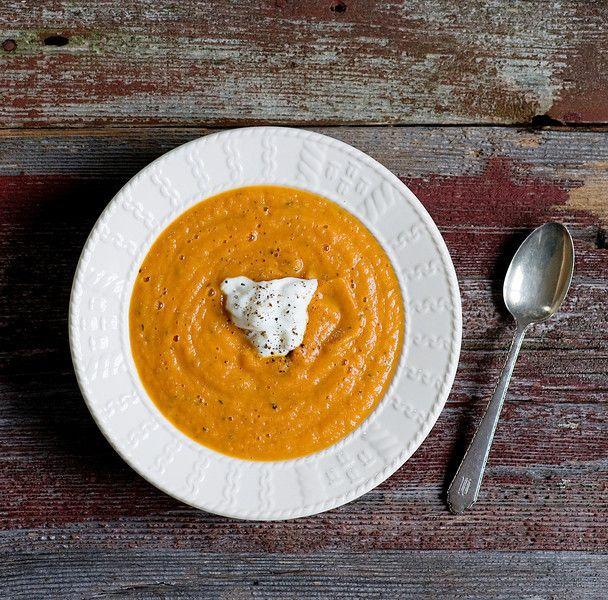 Roasted Vegetable Soup XVII Recipe | Food & Drink | Pinterest