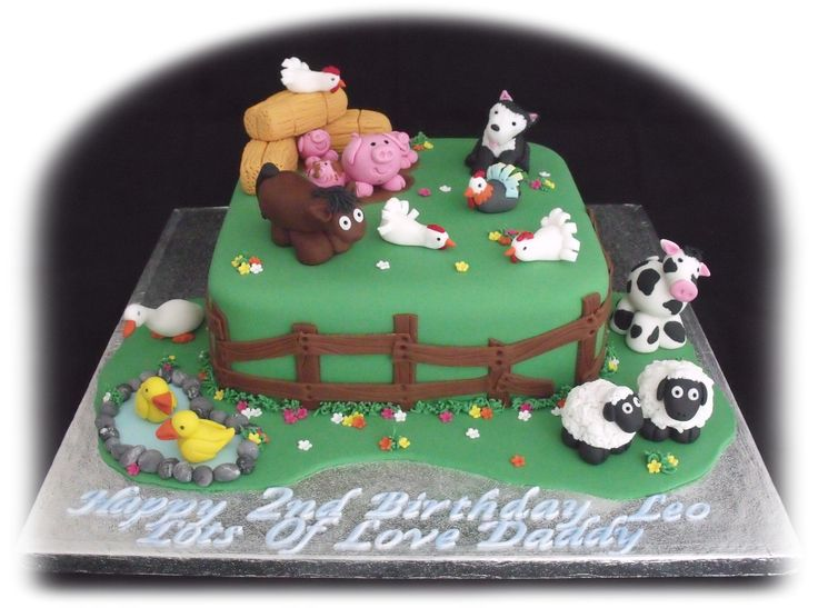 Cake Decorations Farm Animals : Barnyard animal cake decorations Cakes Pinterest